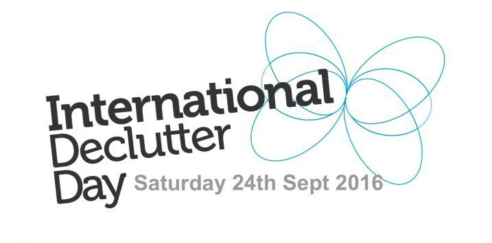 International Declutter Day get involved as an individual